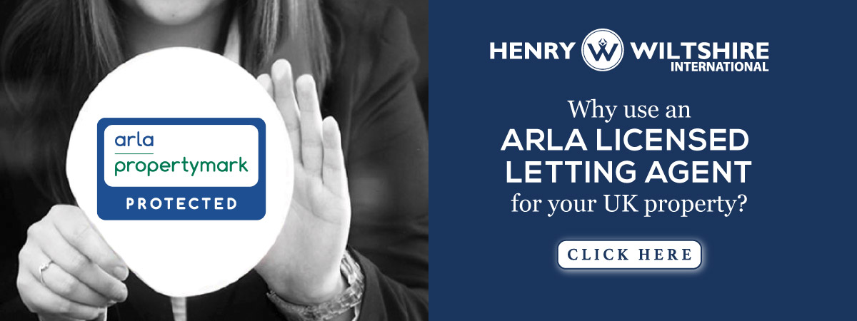 Henry Wiltshire London are now a licenced member of ARLA