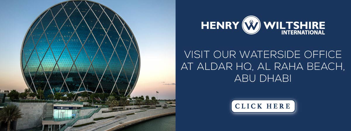 st our waterside office in the iconic Aldar HQ building, Al Raha Beach, Abu Dhabi