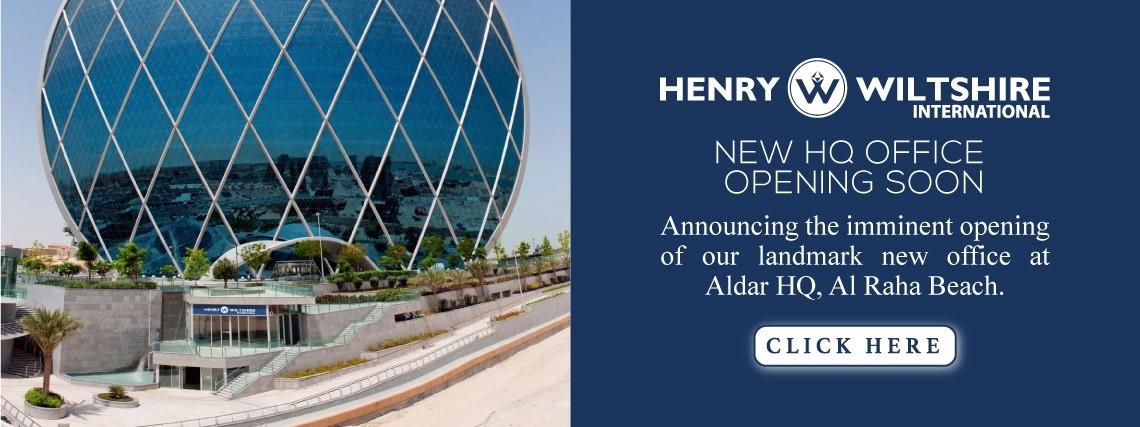 Henry Wiltshire International to open landmark Al Raha Beach office