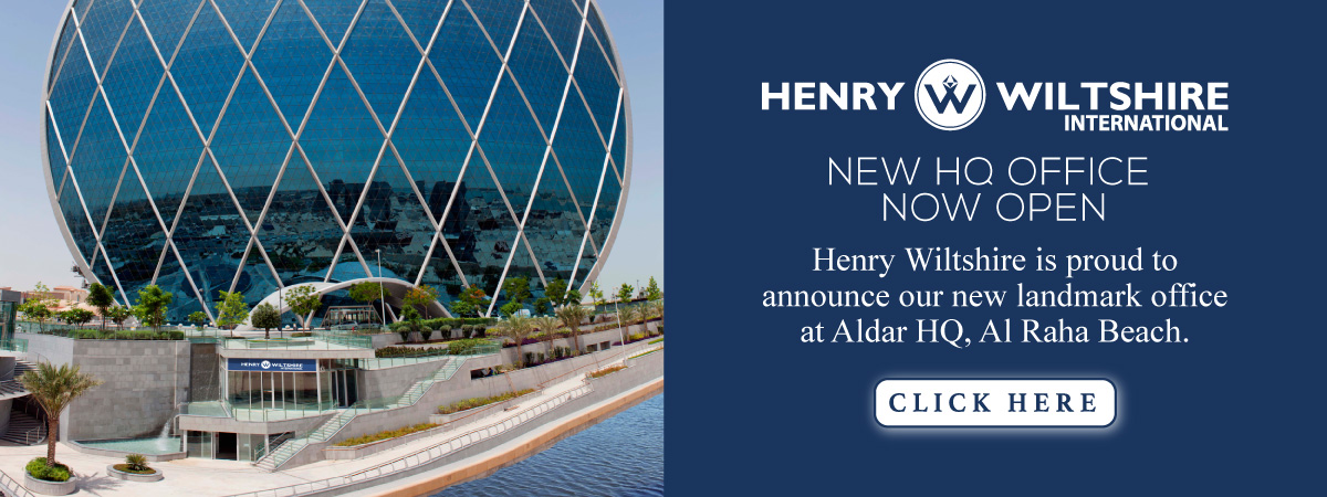 Henry Wiltshire's Abu Dhabi office have moved into the iconic Aldar HQ building