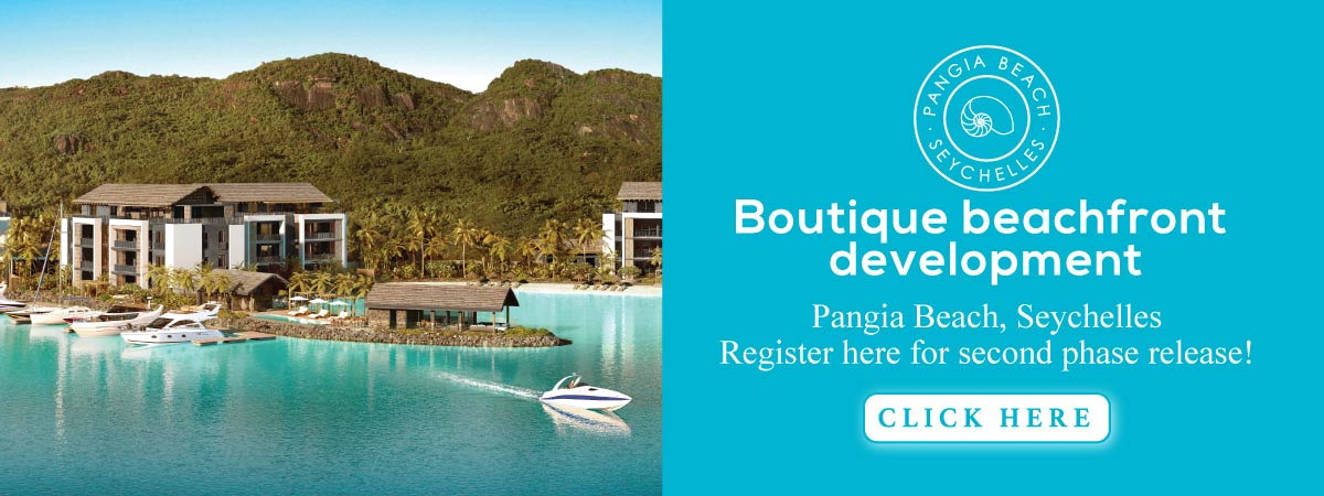 Pangia Beach, Seychelles - Boutique beachfront development. Register here for second phase release!