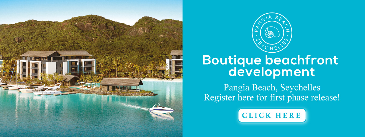 Pangia Beach, Seychelles - Boutique beachfront development. Register here for first phase release!