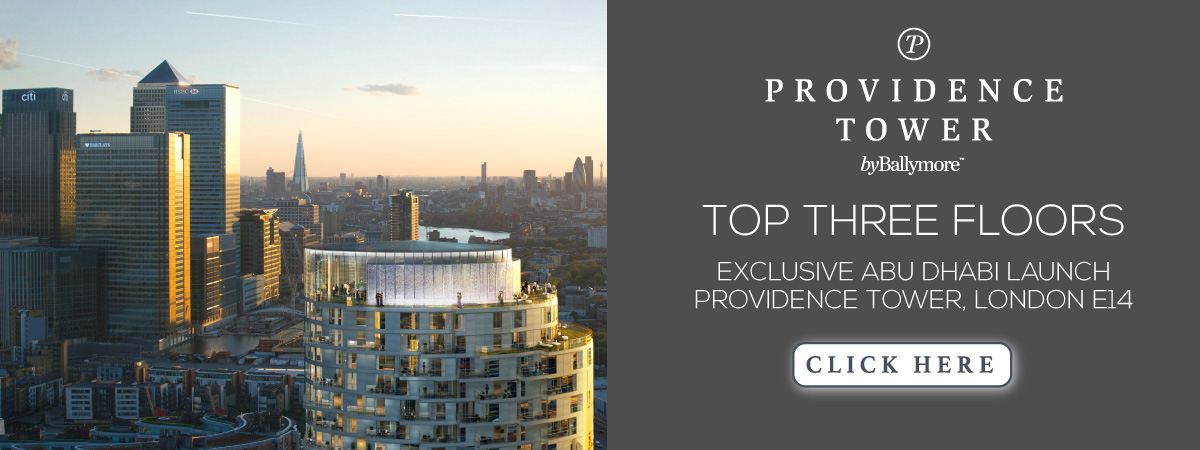 EXCLUSIVE ABU DHABI LAUNCH - Providence Tower, London E14