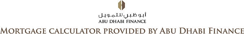Mortgage Calculator provided by Abu Dhabi Finance
