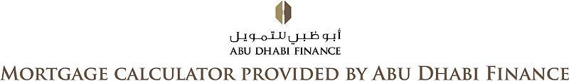 Mortgage Calculator provided by Abu Dhabi Finance