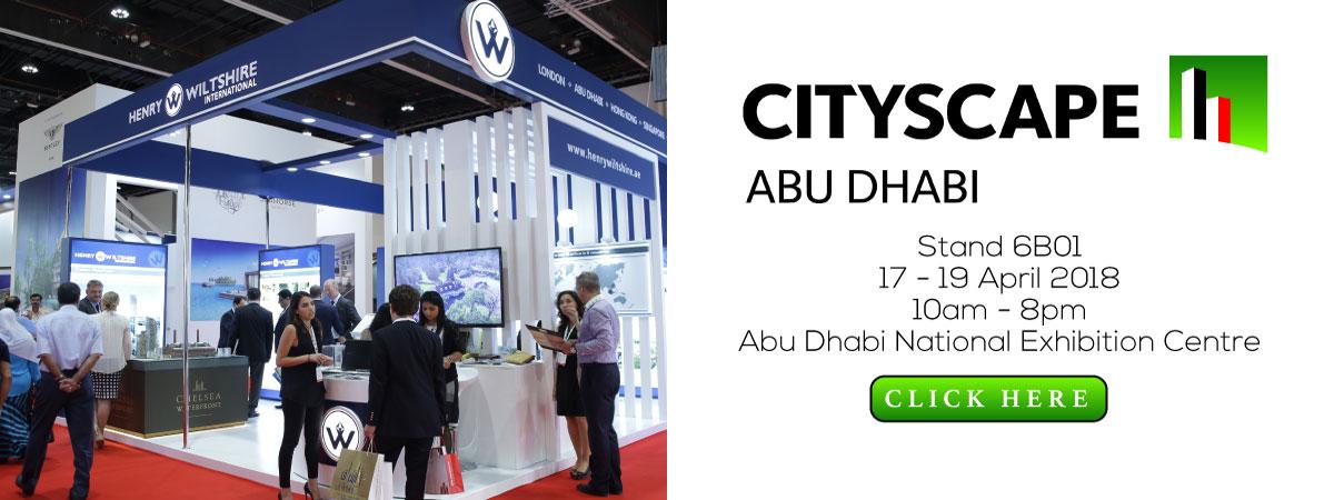 Visit us at Cityscape Abu Dhabi 2018