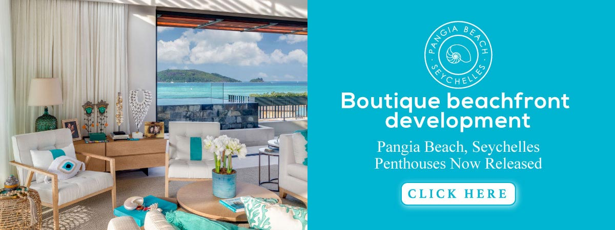 Pangia Beach, Seychelles - Boutique beachfront development. Final release