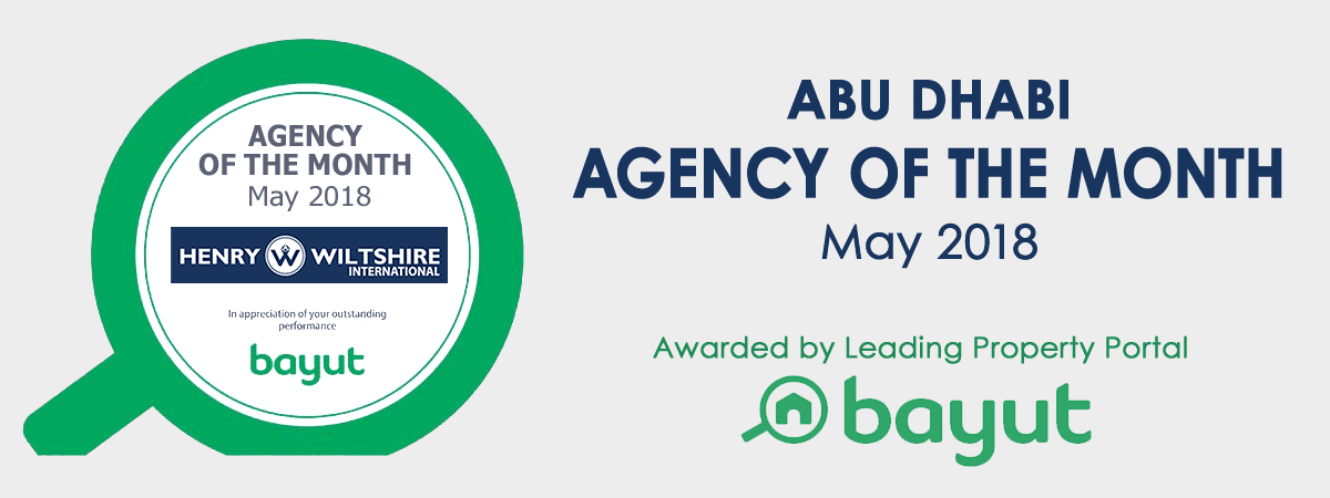 Bayut's Abu Dhabi Agency of the month for May 2018